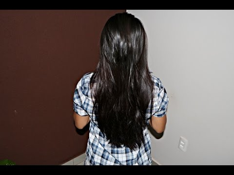 cabelos progressiva antes e depois