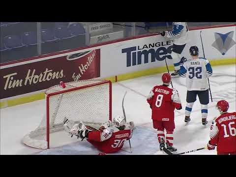 Finland vs Denmark WJHC 2019 Pre Tournament Highlights