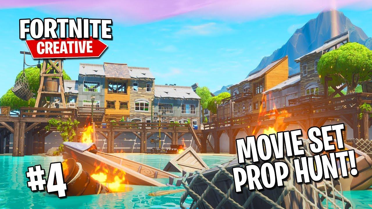 ▷ Fortnite island code: How to Play Prop Hunt