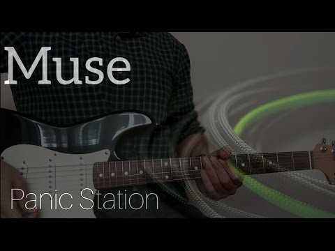 Muse | Panic Station Guitar Cover, Lesson and Tabs HD
