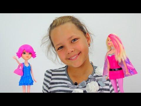 Подружка Настя - Барби-стилист. Видео для детей