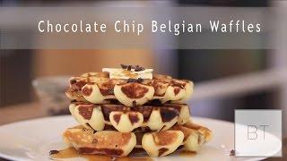 Chocolate Chip Belgian Waffles | Byron Talbott