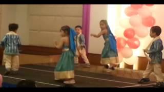 Noreen performing Tinak Tin Tana