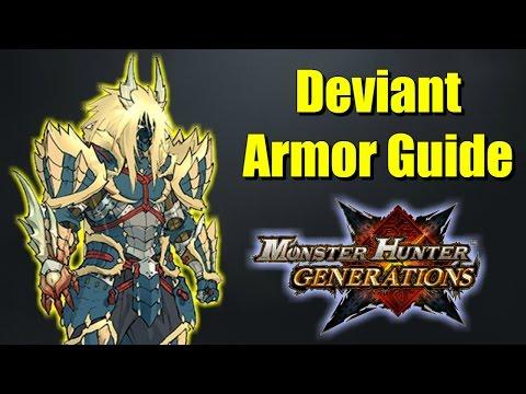 Monster Hunter Generations Deviant Armor Guide