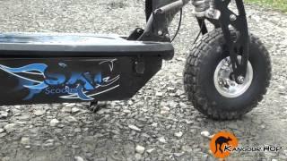 sxt 1000w turbo 40 km h trottinette electrique nouvelle gnration kangour hop