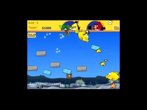 Angry Birds Online Games Angry Birds Double Fishing Game - 2 Player Game