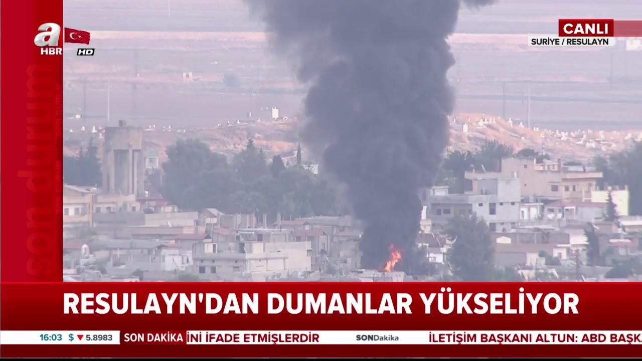 Son Dakika: Resulayn'da Büyük Patlama! / A Haber