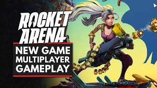Rocket Arena   New Multiplayer Gameplay - Smash Bros With Rocket Launchers?