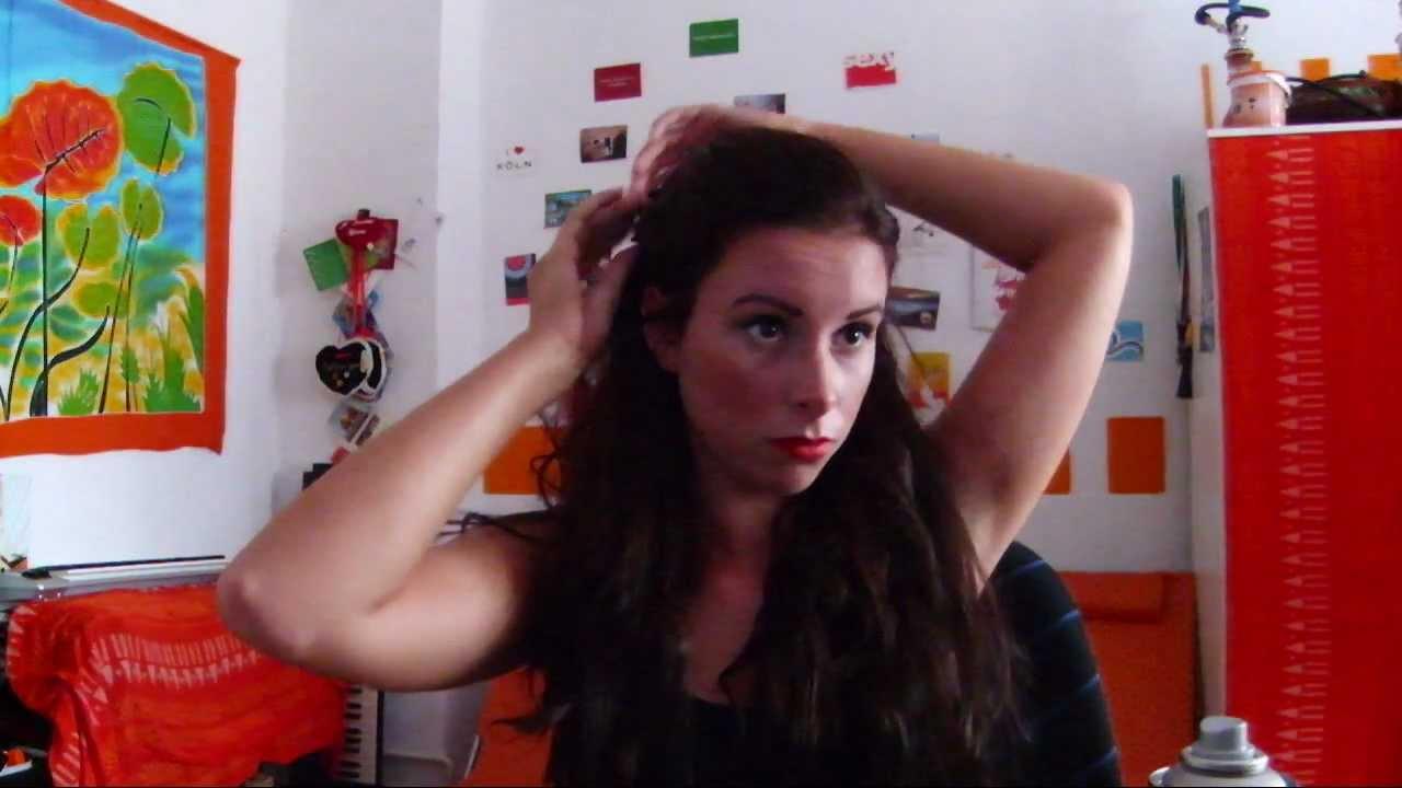Dita Von Teese Pin Up Burlesque Haar Tutorial Youtube