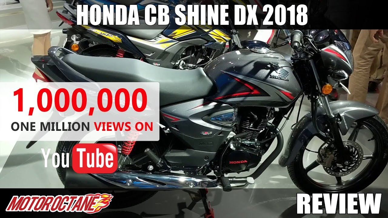 Honda CB Shine Dx 2018 Review In Hindi
