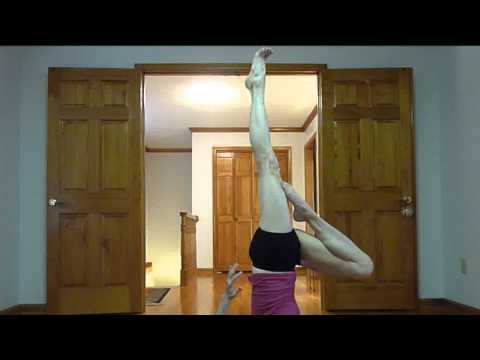 ~ bicycles & inverted scissors leg stretches
