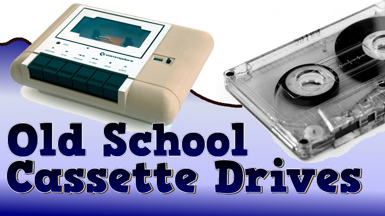 How old school cassette tape drives worked