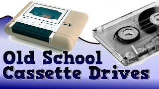 How old school cassette tape drives worked thumbnail