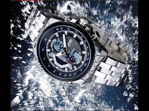 EVERBUYING.NET - Skmei 0993 Dual-movtz Male Business Watch Date