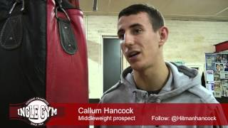 Callum Hancock on his 15 December fight at Octagon Centre, Sheffield