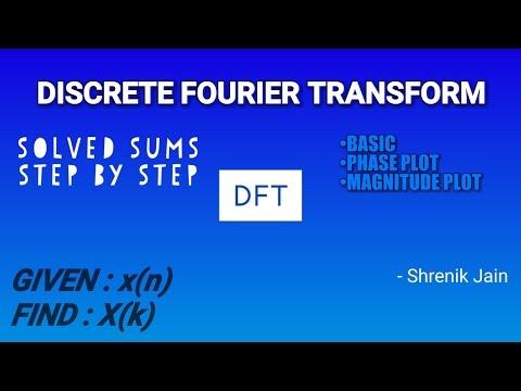 DFT- Discrete Fourier Transform (basic, Formula & Graph)