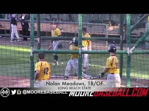 Nolan Meadows Prospect Video, 1B/OF, Long Beach State