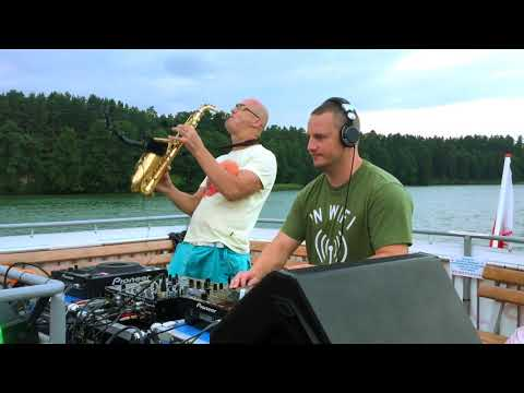 Infinity - Saxophone Live from Augustow City boat party