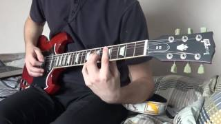 Black Magic Woman - Santana - Guitar Cover