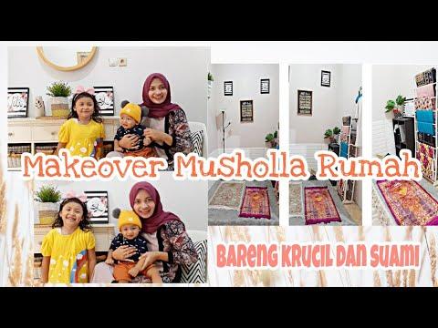make-over-musholla-rumah-|-low-budget-|-bersama-krucil-dan-pak-suami