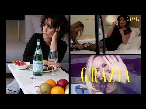 Grazia: Backstage met Angela groothuizen