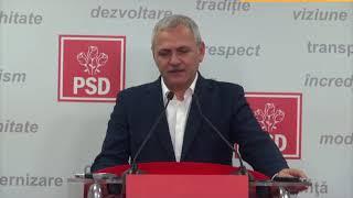 Liviu Dragnea declaratie dupa CEX PSD despre noul premier si Guvern