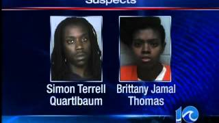 Couple arrested for concealing gun in stroller