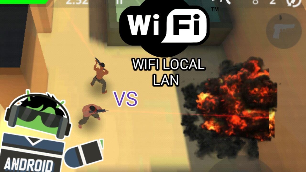 Divertido Juego De Disparos Multijugador Wifi Local Lan Sin Internet