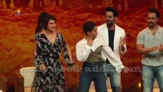 Aamir Khan, Kiran Rao & Dangal Team Visit On Set Of Sa Re Ga Ma Pa 2017