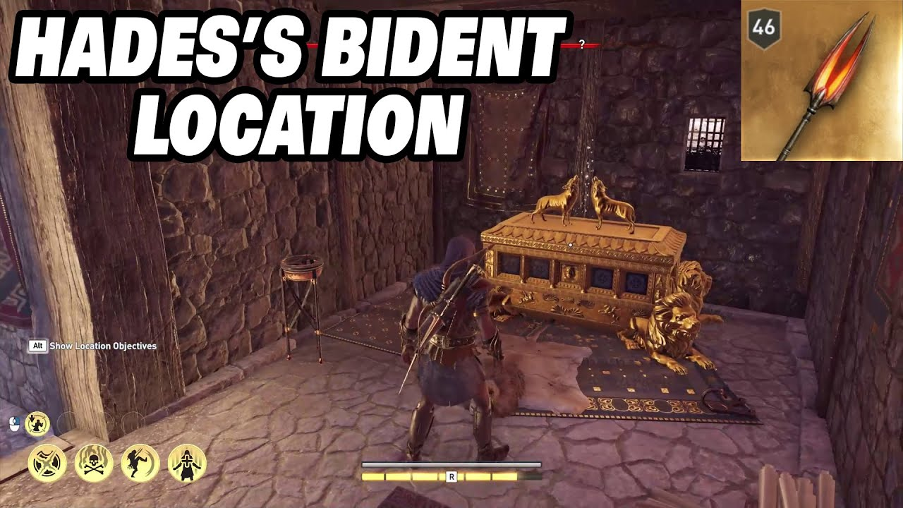 Assassin S Creed Odyssey How To Aquire Hades S Bident Legendary Spear Youtube