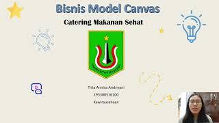 Bisnis Model Canvas Catering Makanan Sehat Youtube
