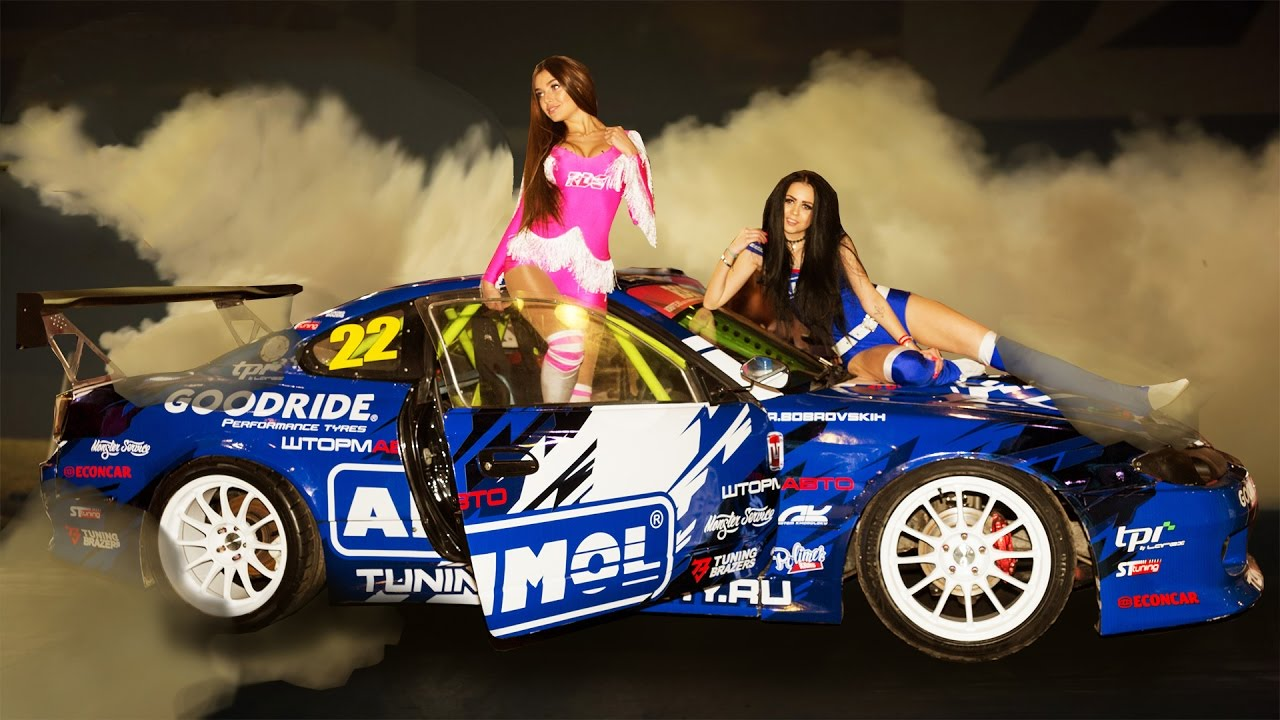 Top Drift Cars And Grid Girls Youtube