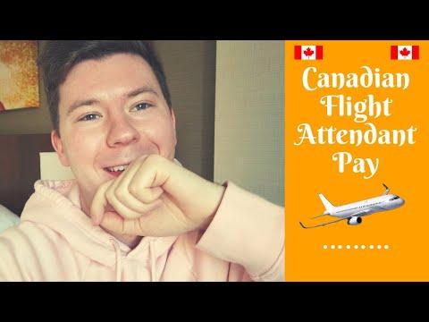 CANADIAN FLIGHT ATTENDANT PAY