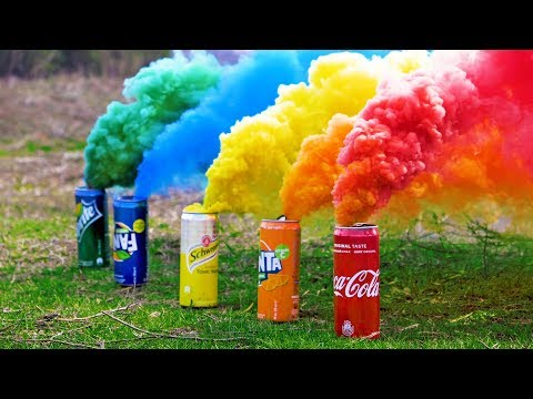 How to make colored smoke bombs / Boing Boing