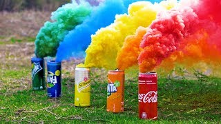Download Making Colored Smoke from Basic Materials Mp3 and Videos