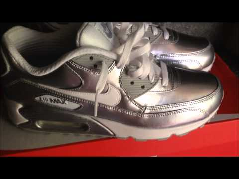 Nike Air Max Metallic Silver Happymothersday