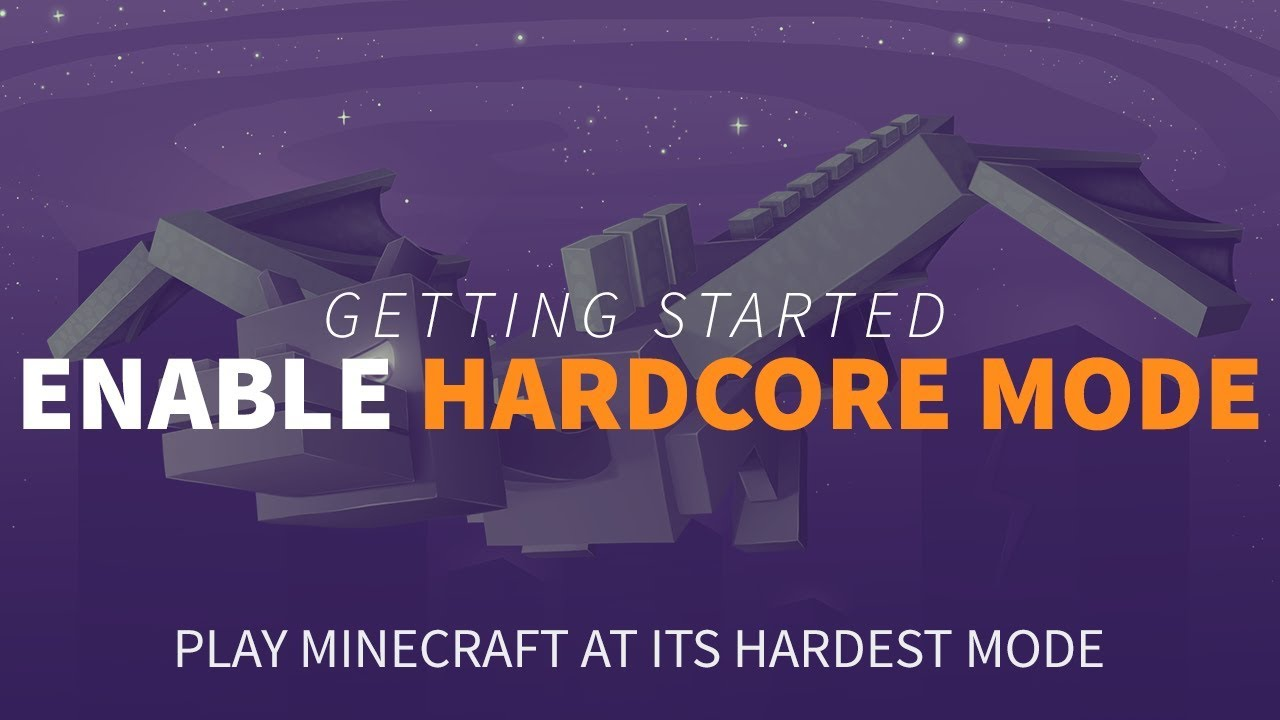 How to Enable Hardcore Mode for your Minecraft Server