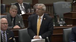 Fedeli Questions Minister of Energy on Failed Hydro Policies