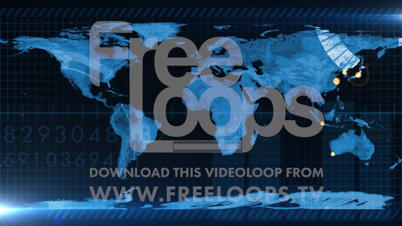 HUD World Map Scanner from FreeLoops tv - YouTube