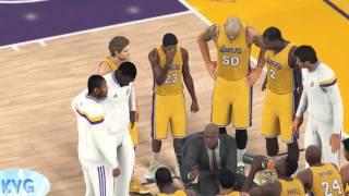 NBA 2K16 - Charlotte Hornets vs Los Angeles Lakers Gameplay (PC HD) [1080p60FPS]