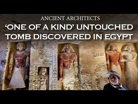 'One of a Kind' Untouched Tomb Discovered in Egypt | Ancient