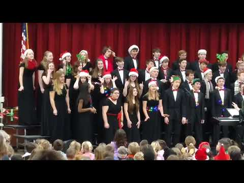 Scotia-Glenville Choralaires perform at Glen-Worden Elementary School.