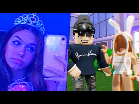 teaching the PERFECT tiktok girl how to be a slender...😏 (ROBLOX)