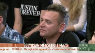 Emiatt sérült meg MÁZS az egyik próbán - tv2.hu/mokka