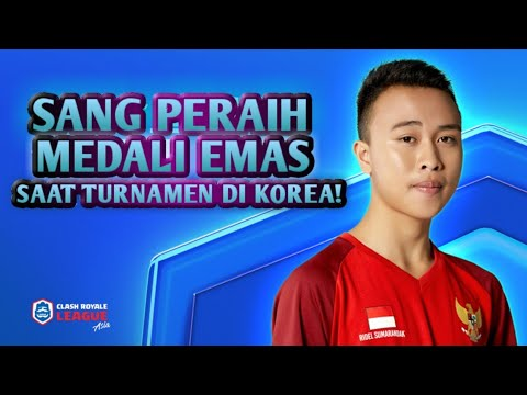 Kabar Terbaru BenZer Ridel ( Gold Medalist Asian Games 2018 Indonesia ) - Clash Royale League Asia2