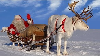 Joulupukki ja porot: Joulupukin parhaat rekiajelut Rovaniemi Lappi Korvatunturi joulu Santa Claus