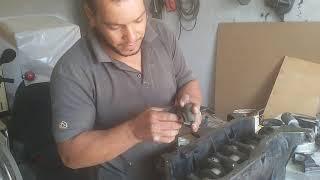 شرح وتركيب محرك بيجو 505 مع رزاق لبزة محمد(Explanation and installation of Peugeot 505 engine)