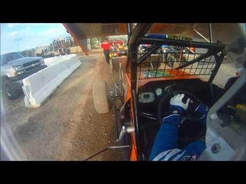 Cory Sparks ESS Flip @ Albany-Saratoga Speedway 8-2-2013