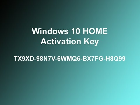 cle d activation windows 10 famille
