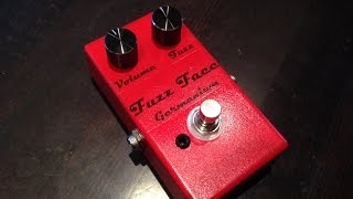 Fuzz Face на транзисторах AC128